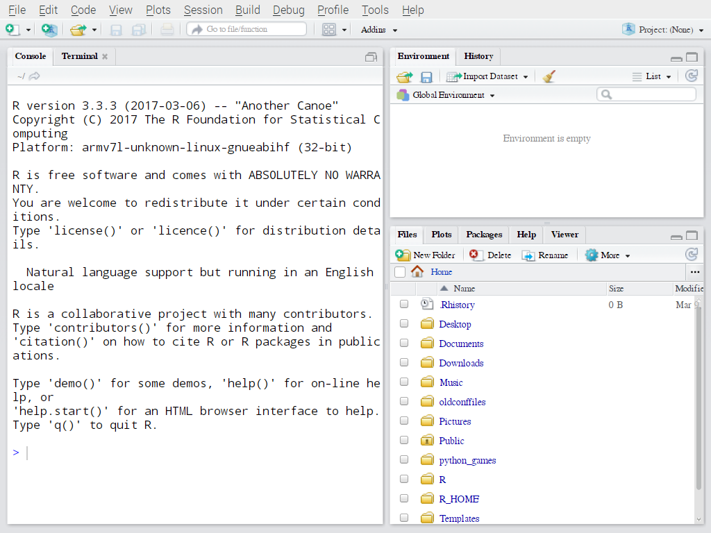 How to install R-3 3 3 on Raspberry Pi 2 or 3(Raspbian